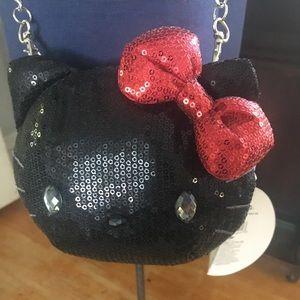 Hello Kitty sequin crossbody Bag